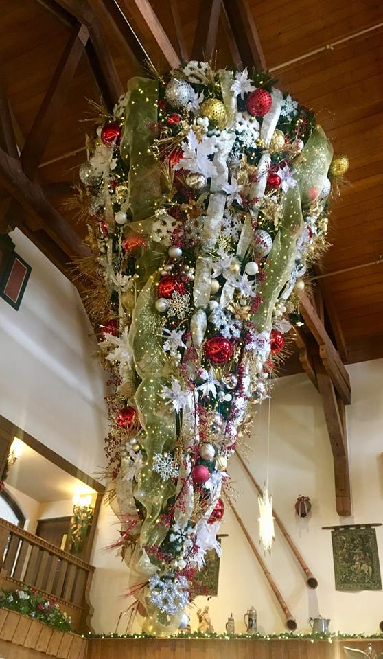 What It Takes To Decorate The Bavarian Inn Lodge For Christmas